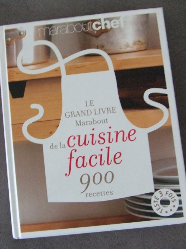le grand livre marabout de la cuisine facile - photo de ma