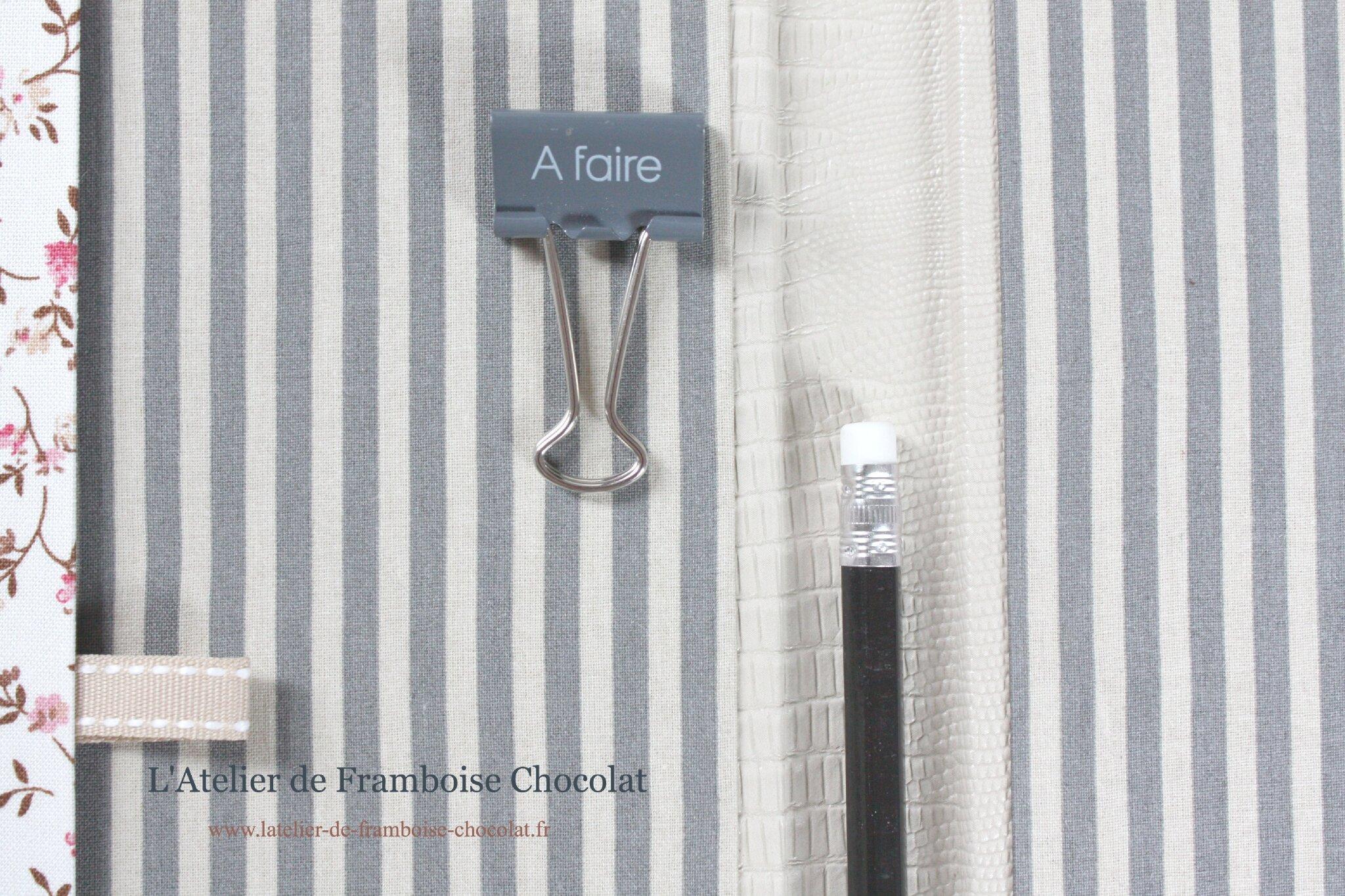 Agenda 2013 2014 L'Atelier de Framboise Chocolat_7