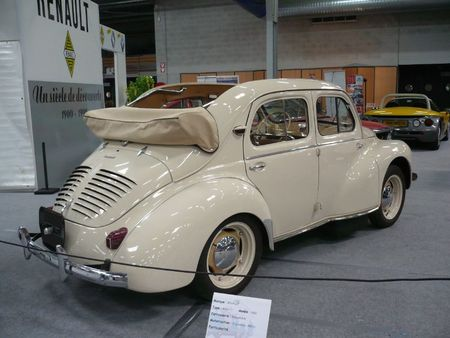renault 4cv grand luxe d couvrable 1952 vroom vroom. Black Bedroom Furniture Sets. Home Design Ideas