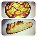 Gâteau pomme-pomme {gâteau doublement pomme} {gâteau au yaourt sans yaourt}