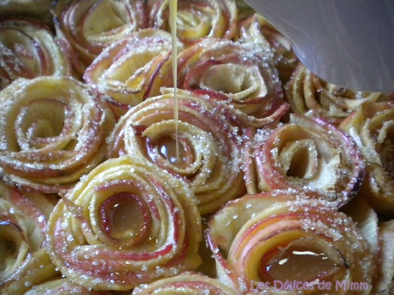Tarte aux pommes bouquet de roses façon Alain Passard 2