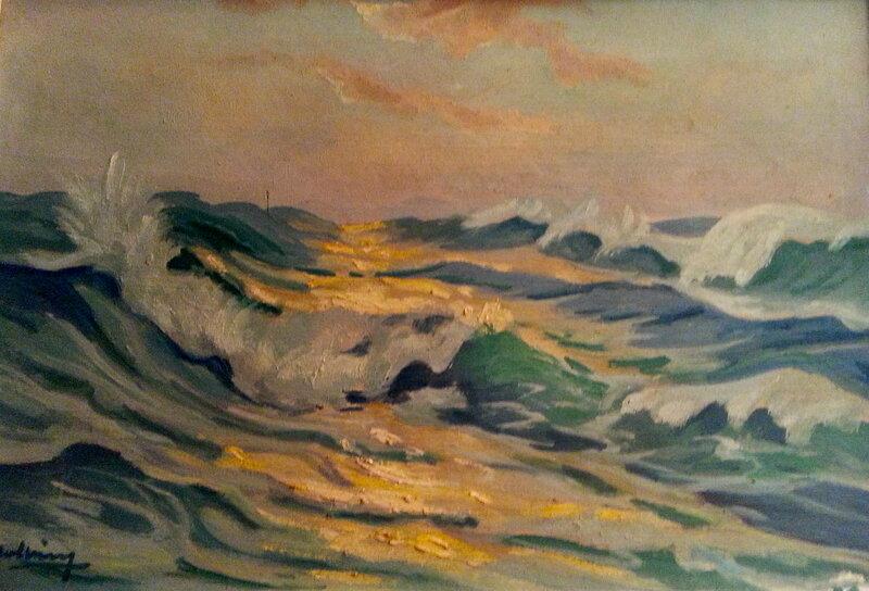 Holbing_La_mer_sur_les_cotes_bretonnes_1947