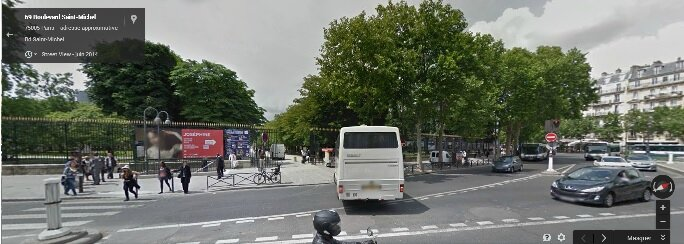 entrée du parc du Luxembourg