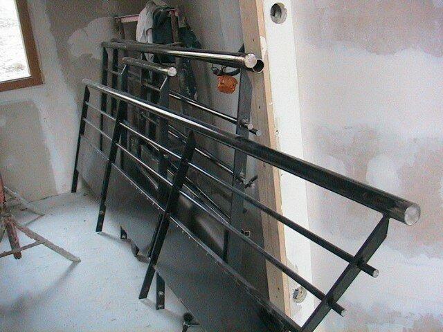 Escalier i 4 murs et 1 toit for Pose de garde corps