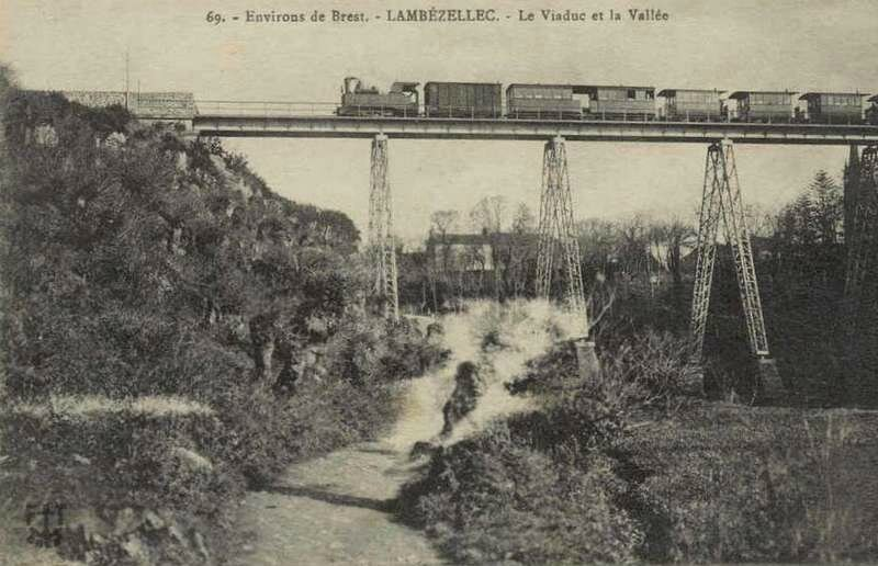 Chemins de fer armoricain la ligne brest st pol de l on for Plan de construction en ligne