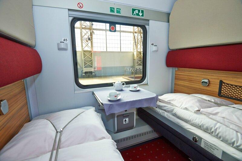 Paris nice des voitures russes sur le train de nuit for Interieur nuit