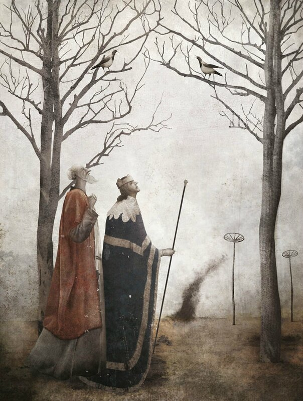 Gabriel Pacheco 1973 - Mexican Surrealist Visionary painter - Tutt'Art@ (15)