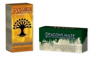 Boutique jeux de société - Pontivy - morbihan - ludis factory - Magic Dragon Maze event deck
