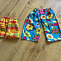 Petits pantalons d'été