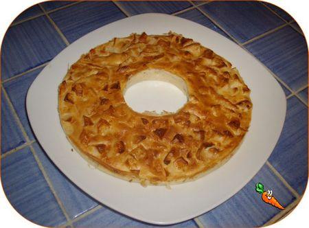 gateau pommes sans oeufs