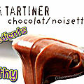 Recette de la pâte à tartiner chocolat/noisettes, sans sucre ajouté, sans lait et avec seulement 2 ingrédients !