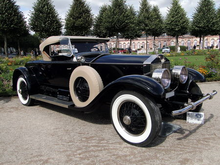 ROLLS ROYCE Phantom I Piccadilly Roadster 1927 Classic Gala de Schwetzingen 2009 1