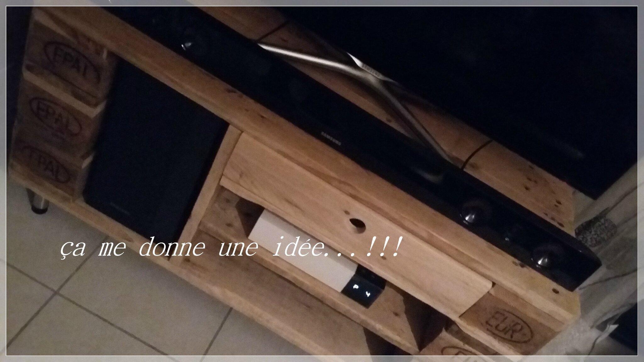 Edit rajout de photos in situ atelier 1 cr ation for Meuble tv yannick