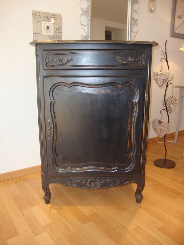 Buffet henri ii patin gris et zinc kr ative d co for Recouvrir une table de zinc