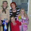 Sandrine ses enfants Sacha, Séphora et Moi