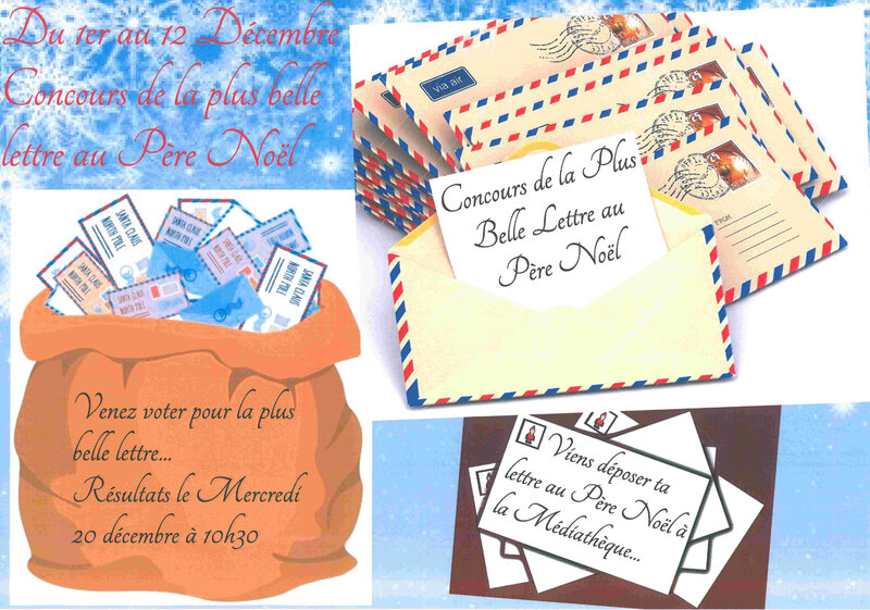 concours lettre pere noel 20170