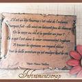 Mini Maman détail poème 4