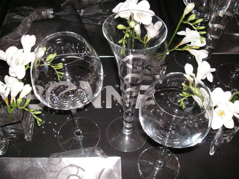 Pict0003 0014 photo de table r veillon st sylvestre - Table reveillon saint sylvestre ...