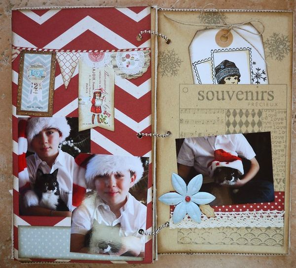 Mini album Scrapbox dcembre 19