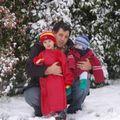 2008 04 oscar meo et marc sous la neige