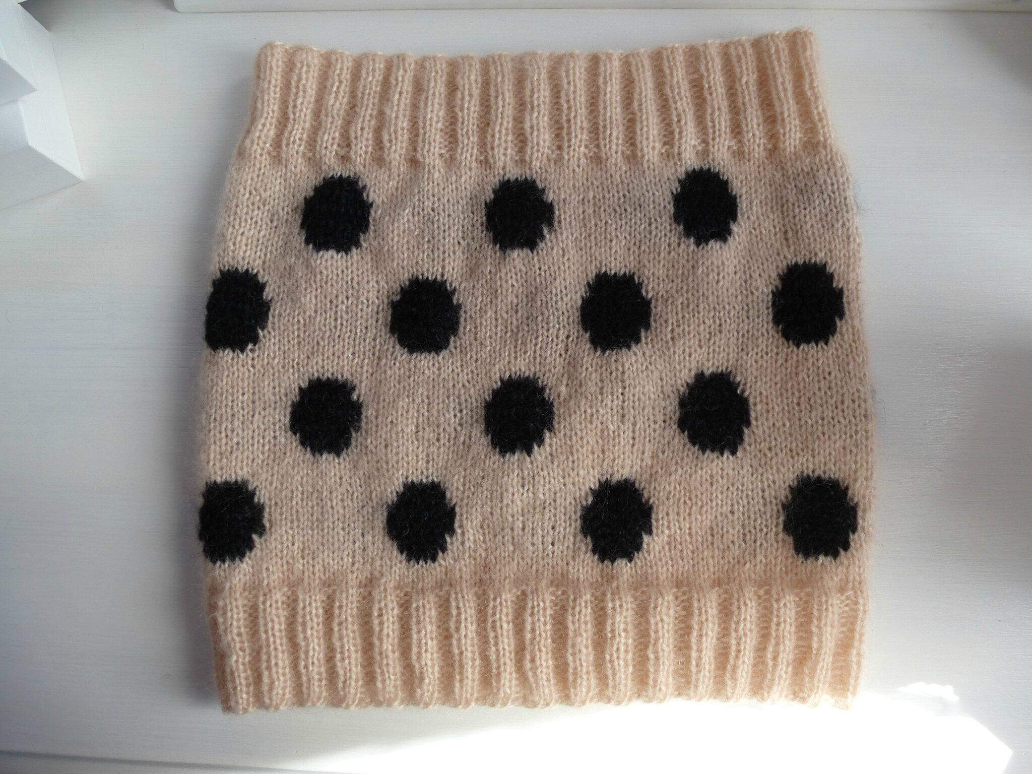 snood à pois (3)