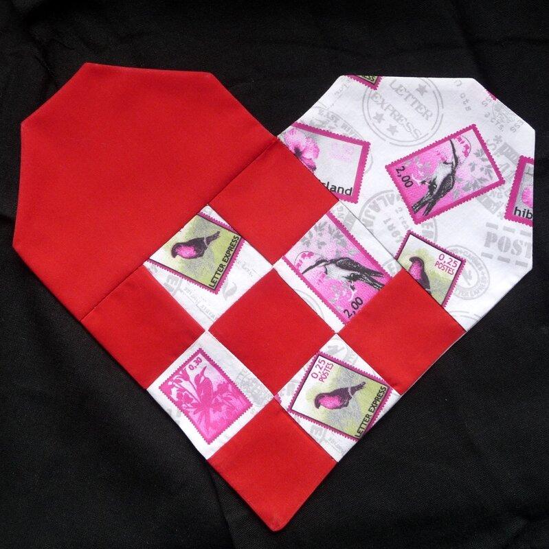 Coeur patchwork