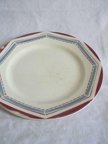Assiette plate Leda 23 cm