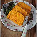 Terrine de potimarron & carotte, légère et gourmande ...
