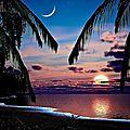 ile coucher soleil