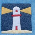Patch mer, détail phare