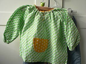 blouse pommes