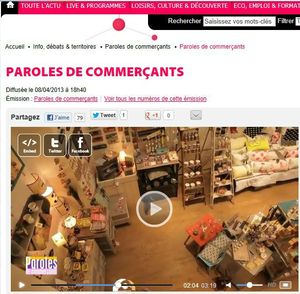 parole de commerant ambiance