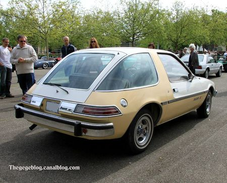 Amc pacer X hatchback 3 door sedan 1977 (Retrorencard mai 2012) 02