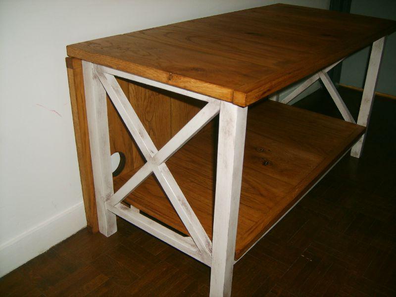 croisillons blancs meuble t l cap ferret photo de les meubles de seb esprit cottage. Black Bedroom Furniture Sets. Home Design Ideas