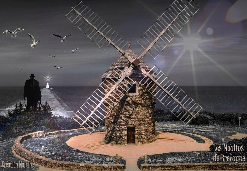 Moulin en Bretagne