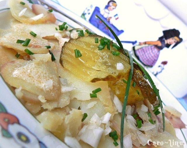 salade de pommes de terre alsacienne ou grumbeere salad les recettes de l 39 alsacienne. Black Bedroom Furniture Sets. Home Design Ideas