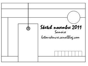 Sketch novembre 2011