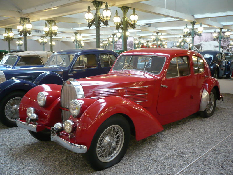 BUGATTI type 57C berline 1939 Mulhouse (1)