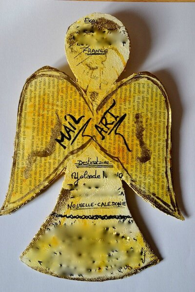 Mail Art Yolande 2014 Dos