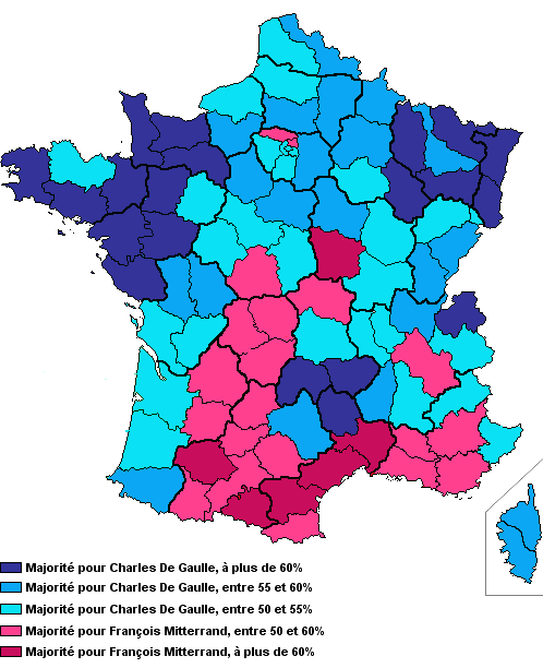 1965-resultats presidentielle de 1965