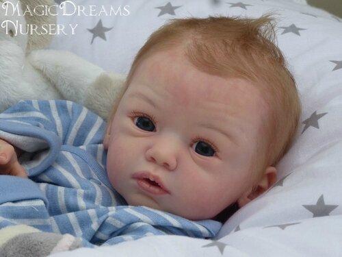 Mike, Baby Boy !!! Doll Kit Maike By Gundrun Legler