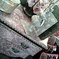 commode,hortensia,coussin velours,couronne,