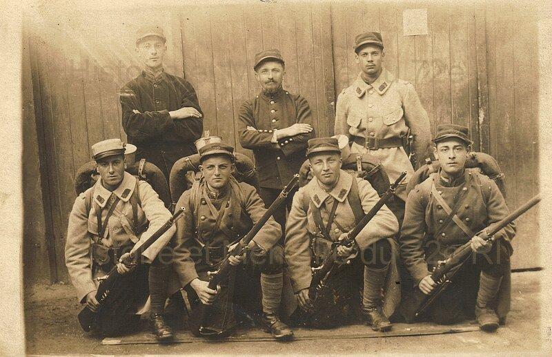 groupe 72e ri inconnus 1915(m)