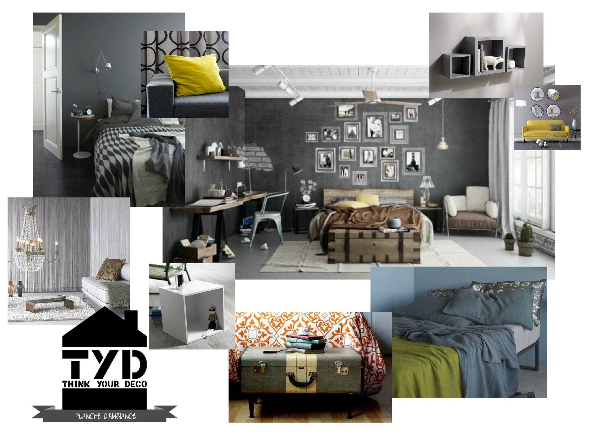 chambre d 39 amis i tyd think your deco coach d co nord lille p v le. Black Bedroom Furniture Sets. Home Design Ideas