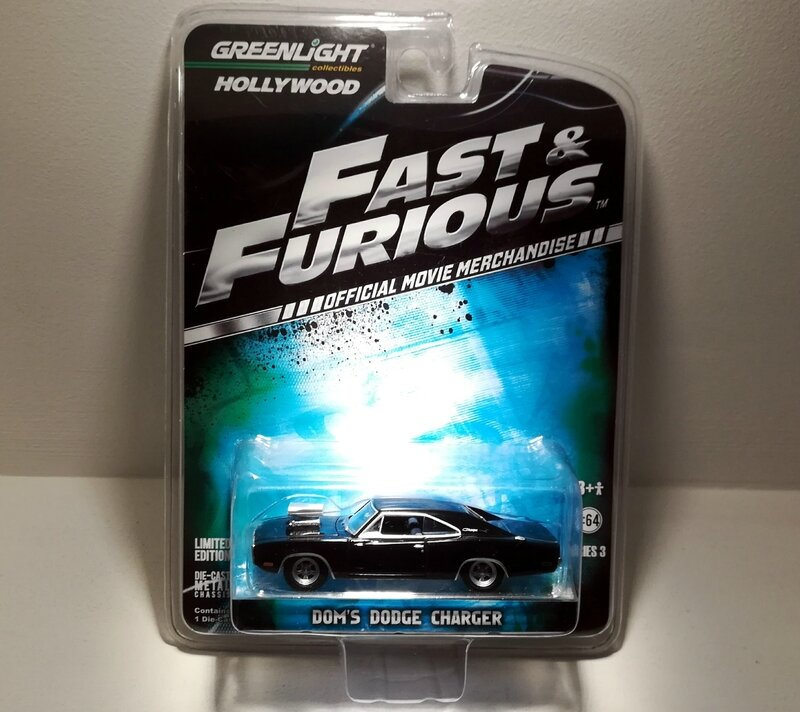 Dodge Charger de 1970 Dom's (Fast and Furious) Greenlight
