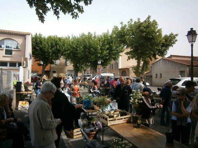 Troc de plantes - Néoules en Fleurs -11 mai 2014 (6)