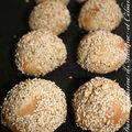 Petits pains epeautre/sésame