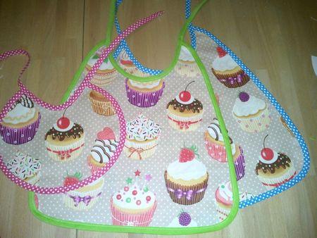 bavoir cupcake (2)