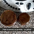 Pâte à tartiner au praliné au thermomix