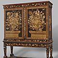 Cabinet, attributed to jan van mekeren, ca. 1695 - ca. 1710